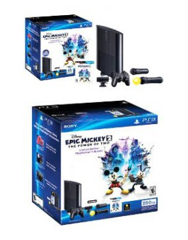 Bundle Epic Mickey - La nueva PlayStation 3 de 250 GB Slim