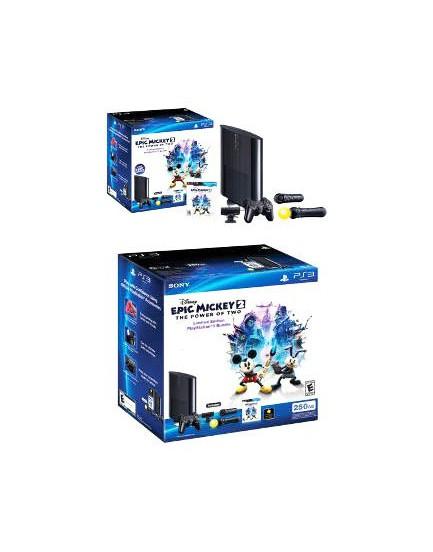 Bundle Epic Mickey - La nueva PlayStation 3 de 250 GB Slim
