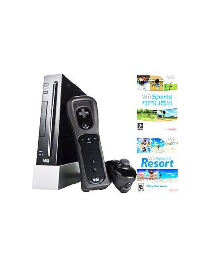 CONSOLA - Nintendo Wii Sports + 2 Juegos