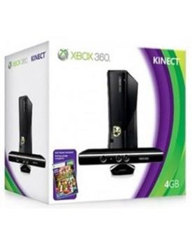 CONSOLA - Xbox 360 / Slim / 4GB / C.Kinect / Nueva / 220V / Desbloqueable