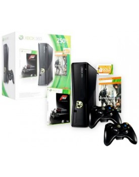 CONSOLA - Xbox 360 / Slim / 250GB / +Forza 3 / +Crysis 2