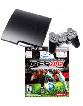 CONSOLA - Playstation 3 / Ultra Slim / 250GB / +PES 2012