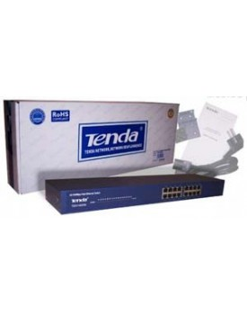 SWITCH - Tenda / 16 Puertos / 10/100 / Rackeable