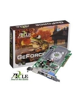 TARJETA DE VIDEO - AXLE3D / GeForce / 5500GT / 256MB / DDR / AGP