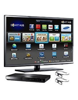 "LED TV - Samsung / 55"" / 3D / Bluray / 4 Gafas Active 3D"