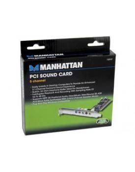 Tarjeta de Sonido Manhattan 5.1 CON PUERTO MIDI