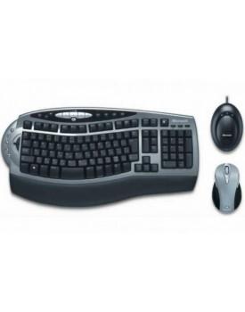 Teclado y Mouse Microsoft Wireless Desktop 4000