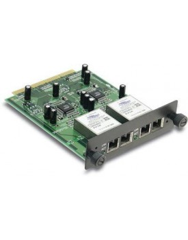 2-port Fiber Gigabit SC-type module for TEG-S2400i