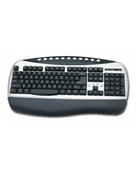 Teclado Ps2 Internet Comstar Blanco