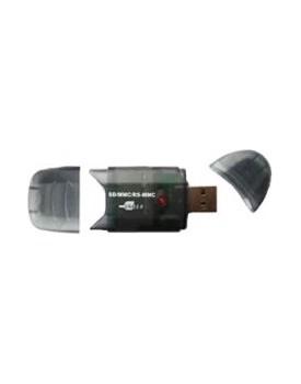 LECTOR DE TARJETAS - Sabrent / 26 en 1 / SD/SDHC/MMC/RS MMC / USB 2.0