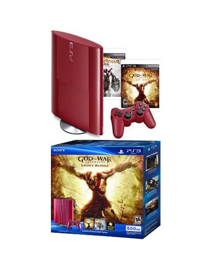CONSOLA - Sony / PS3 / 500 GB / SuperSlim + Saga Completa GOD OF WAR