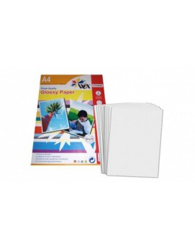PAPEL WOX GLOSSY FOTOGRÁFICO A4 RC - WATER PROOF 260grs. X 20 ud