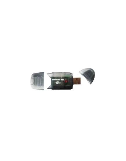 LECTORA DE TARJETAS - Sabrent / 26 en 1 / SD/SDHC/MMC/RS MMC / USB 2.0 (CRSDMMC)