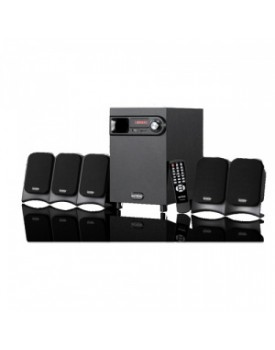 Parlantes 5.1 INTEX IT-601 5.1 Con FM/SD y USB - Control Remoto