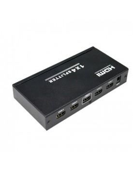 ADAPTADORES » HDMI » HDMI SPLITTER 1 X 4 FULLHD 1080P 3D V1.4
