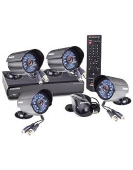 KIT - Samsung / DVR / 4 Canales / SDE-3004N