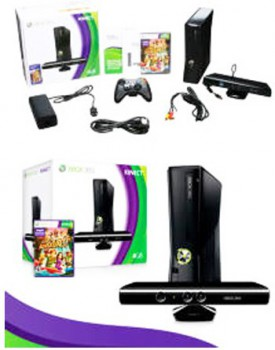 CONSOLA - XBOX 360 / C.Kinect Adventure / Wifi / 220V