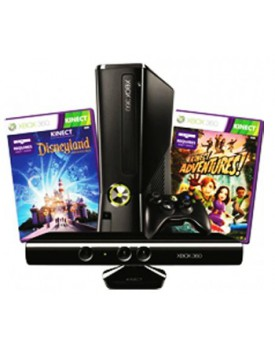 CONSOLA - XBOX 360 / C.Kinect Disneyland Bundle / 4GB / 220V