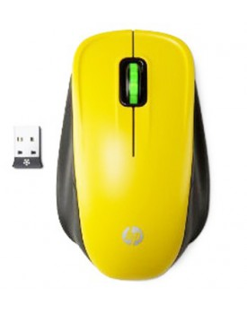 MOUSE - HP / Inalámbrico / Amarillo (HPLB422)