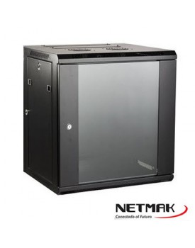 Racks y A. - Rack de Pared - 12U 600x450 - NETMAK