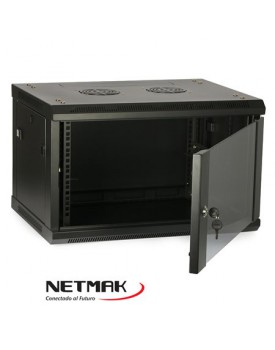 Racks y A. - Rack de Pared - 6U 600x450 - NETMAK