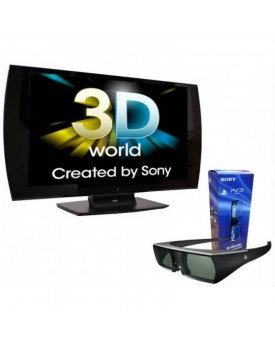 MONITOR 24'' SONY PLAYSTATION 3D FULL HD + LENTES 3D