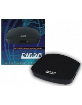 SINTONIZADOR DIGITAL ISDB-T DINAM D-120 FULL HD