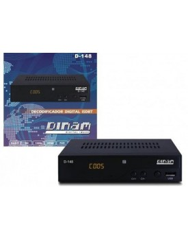 SINTONIZADOR DIGITAL ISDB-T DINAM D-148 FULL HD