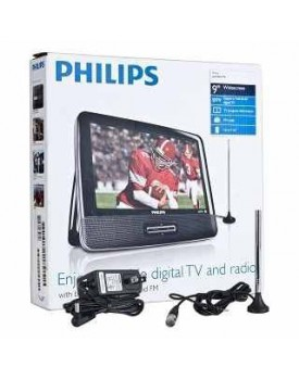 REPRODUCTOR DVD PORTABLE PHILIPS CON DOS PANTALLAS DE 7''