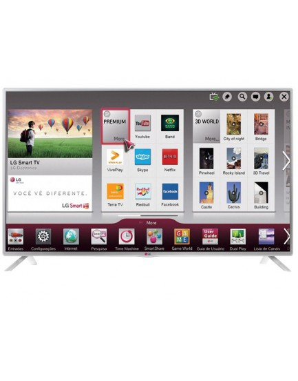 "Smart TV LED 39"" LG LB5800 Full HD 1080p"