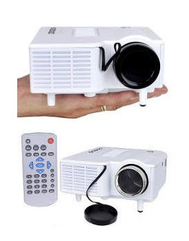 PROYECTOR MINI PORTABLE MULTIMEDIA LED UC28-N