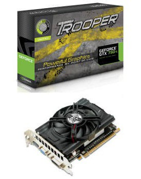 TARJETA DE VIDEO GTX-750 TROOPER