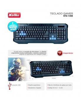 TECLADO KMG-100 GAMER KOLKE