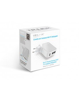 Nano Router Wireless TP-LINK TL-WR710N AP/Router Cliente 150Mbps