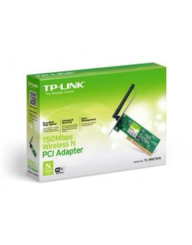 Tarjeta de Red PCI TP-LINK TL-WN751N 150Mbps de antena fija