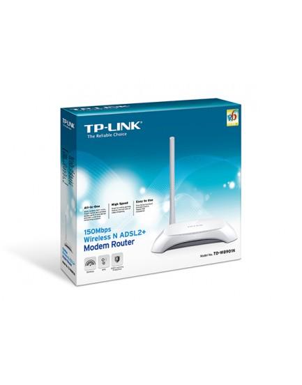 Modem Router Inalámbrico TP-LINK TD-W8901N ADSL2 Access