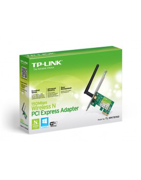 Tarjeta de Red PCI Xpress Wireless TP-LINK TL-WN781ND 150Mbps