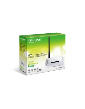 Router Wireless TP-Link TL-WR741ND 150Mbps con antena desmontable