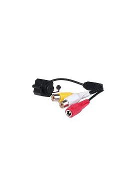 Camara Mini de Vigilancia Color con Microfono Incorporado