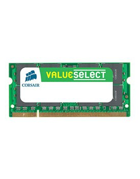 CORSAIR VALUE SELECT MEMORIA SO-DIMM 1 GB