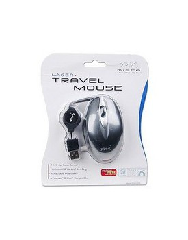 MOUSE USB LASER MICRO INNOVATIONS 3 BOTONES
