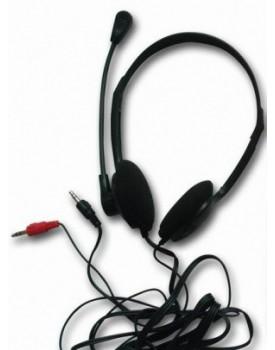 Auricular con Microfono Bitrom Negro Eco.