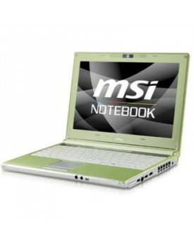 NOTEBOOK MSI INTEL CELERON M575 2 Gb DDR2 - 160 Gb - 12.1'' CÁMA