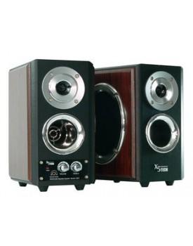 Audio Subwoofer negro 40 W x 2