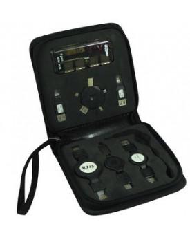 Kit Mini mouse optico USB , extension USB, RJ11, RJ45, IEEE/1394,
