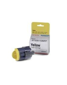 TONER COMPATIBLE XEROX PHASER LX 6110 yellow
