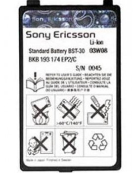 BATERIA GENERICA (BST-30) SonyEricsson T290