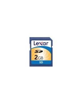 Memoria SD 2GB Lexar