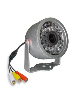 CAMARA COLOR INFRAROJA 30 LEDS NTSC 12v