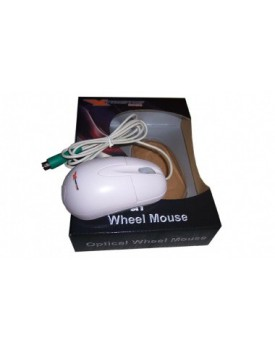 Mouse Optico Xtreme USB Blanco